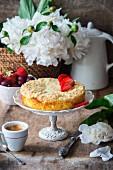 Streusel-Quark-Kuchen