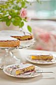 Bakewell tart (afternoon tea)