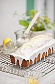 Iced madeira cake