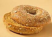 Grain bagel
