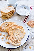Arlettes (puff pastry biscuits, France)