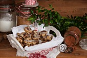 Gluten free marble cookies