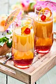 Tequila Sunset Jellies