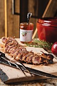 Marinated Pork Tenderloin with Jalapeño Pepper Jelly