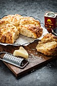 Spicy cheese scones