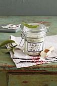 Sage and garlic salt