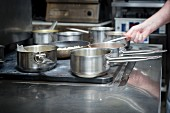 Pots and Pans in the Kitchen