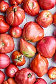 Fresh heirloom tomatoes