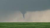 Tornado touching down