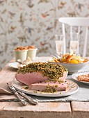 Herb crust ham for brunch