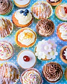 Different cupcakes for parties