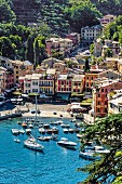 The harbour at Portofino, Liguria, Italy