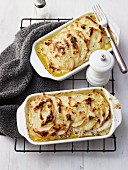 Creamy Fish and Potato Bake