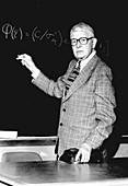 Sewall Wright, US geneticist