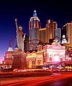 New York-New York casino, Las Vegas, USA