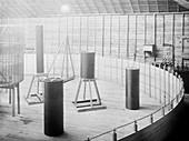 Tesla coils, circa 1899