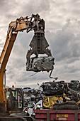 Scrapyard, UK