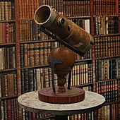 Isaac Newton's reflecting telescope