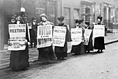 Suffragettes, London, UK
