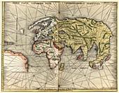 Waldseemuller 1505 world map