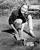 Anne Stine Moe Ingstad, Norwegian archaeologist