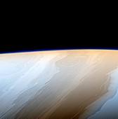 Clouds on Saturn, Cassini image