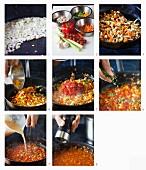 Vegetarische Sauce Bolognese zubereiten