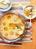 Apricot Impossible Pie