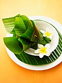 Plating Up Ideas with Banana Leaves