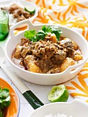 Beef Massaman Curry with Jasmine Rice