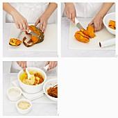 Cheesy Pumpkin Polenta