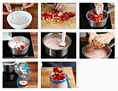 How to make strawberry pannacotta
