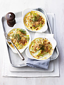 Fennel and Leek Gratin