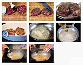 How to make pepper steaks