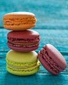 Vier Macarons