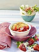 Erdbeeren mit Mascarponecreme