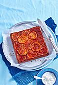 Orangen-Ricotta-Mandelkuchen