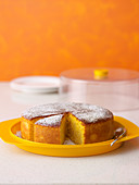 Polenta and Almond Orange Cake