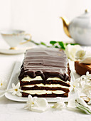 Decadent Minted Chocolate Cake