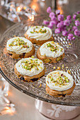 Pistachio cookies for New Year's Eve