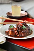 Pork with tamarind sauce (Macau, China)