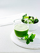 Silver Beet and Apple Juice