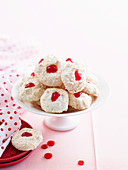 Coconut, Cranberry and White Chocolate Macaroons
