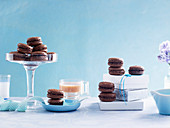 Chocolate Almond Macaroons