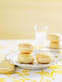 Lemon Liqueur Macaroons