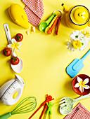Kochen mit Kindern: Utensilien für die Küche