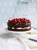 Black Forest Mud Cake