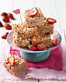 Crunchy peanut butter squares