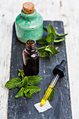 Essential oil of peppermint