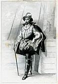 Rene Goulaine de Laudonniere, French explorer